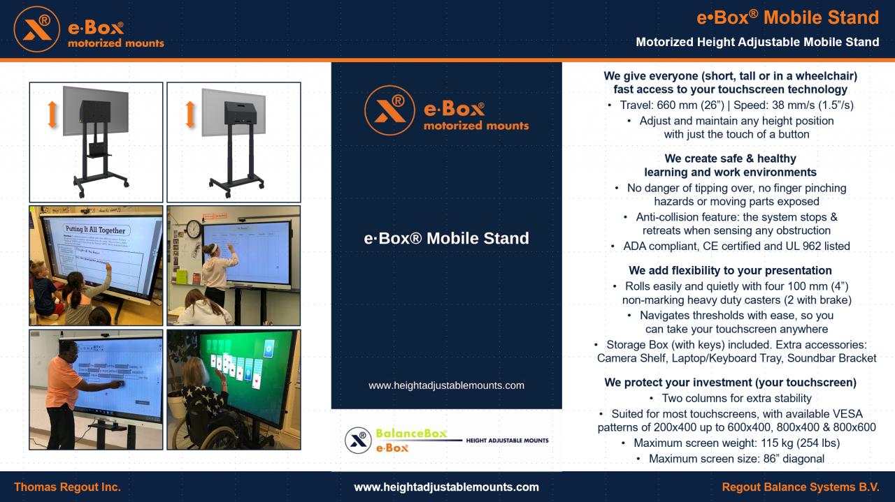 E 183 Box 174 Mobile Stand